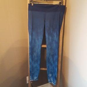 Blue under armour leggings